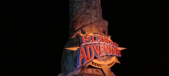 Island Of Adventure – Universal – Orlando