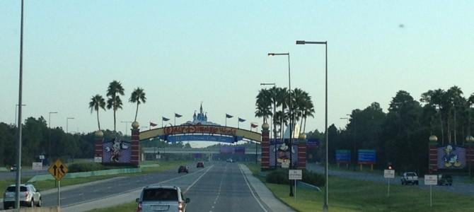 Mis primeros momentos al llegar a Disney