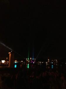 Comienza show de Iluminations